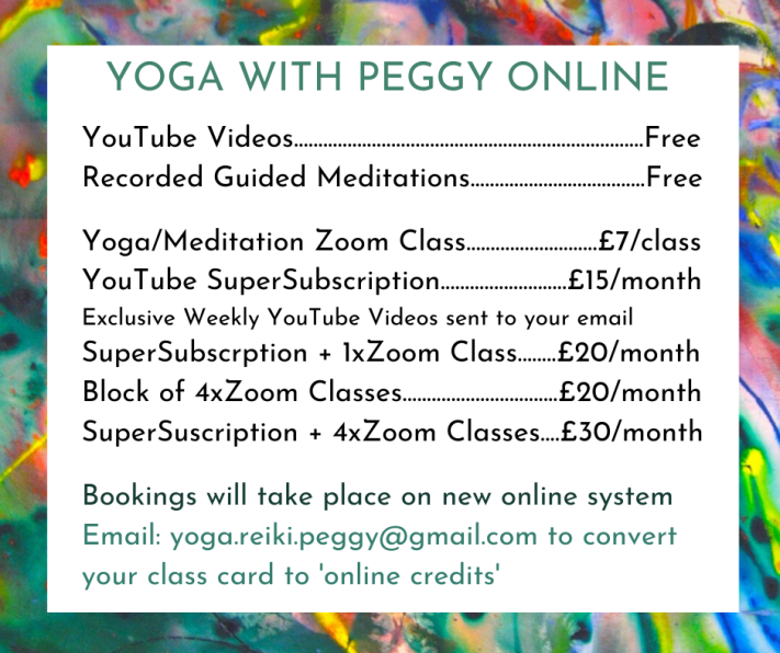 yoga with peggy online